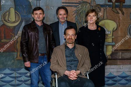 Florian Lukas, Uwe Kockisch, Ruth Reinecke and Jörg Hartmann