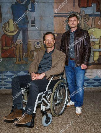Florian Lukas and Jörg Hartmann