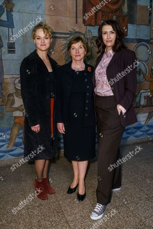 Lisa Wagner, Claudia Mehnert and Ruth Reinecke