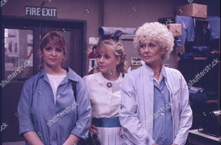 "Editorial image of ""Coronation Street"" TV series - 1987"