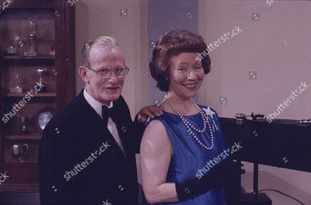 Olive Pendleton (as Mrs Prendergast) and Ted Morris (as Mr Prendergast)