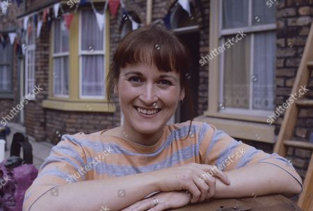 "Editorial photo of ""Coronation Street"" TV series - 1987"