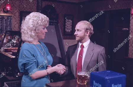 Julie Goodyear (as Bet Gilroy), Colin Meredith (as Mr Sanderson)