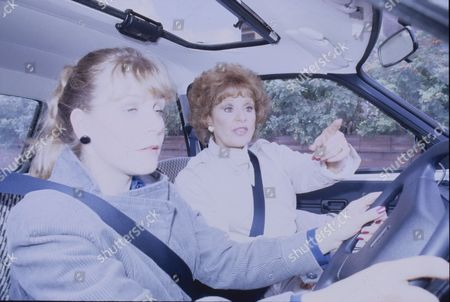 Wendy Jane Walker (as Susan Baldwin) and Barbara Knox (as Rita Fairclough)