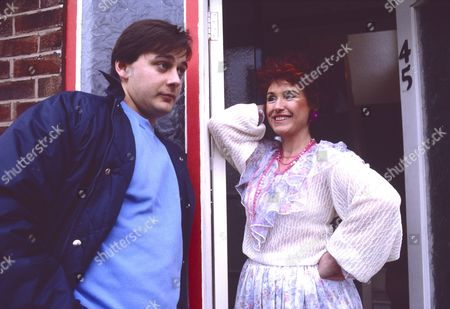 Nigel Pivaro (as Terry Duckworth) and Marji Campi (as Dulcie Froggatt)