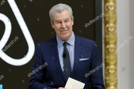 Macy's Chairman & CEO Terry Lundgren addresses a luncheon meeting of the Economic Club of New York