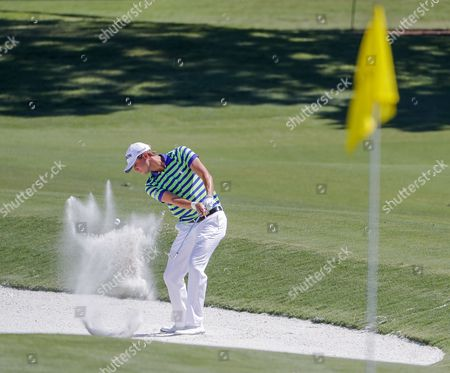 Smylie Kaufman of the US on the eleventh fairway during practice for THE PLAYERS Championship at TPC Sawgrass Stadium Course in Ponte Vedra Beach, Florida, 09 May 2017. The tournament runs 11 May through 14 May.