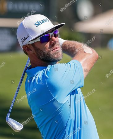 Graham Delaet of Canada on the third tee during practice for THE PLAYERS Championship at TPC Sawgrass Stadium Course in Ponte Vedra Beach, Florida, 09 May 2017. The tournament runs 11 May through 14 May.