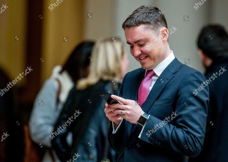 Stock Picture of Taavi Roivas, former Prime Minister of Estonia attends the forum 'Which way forward for a better European Future?' at BOZAR in Brussels, Belgium, 09 May 2017.