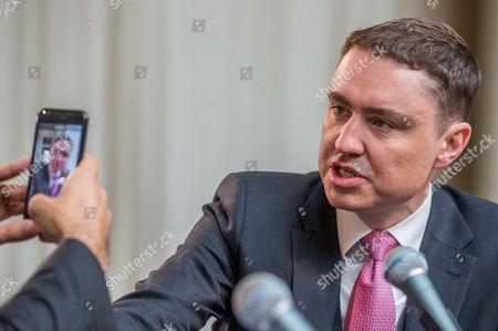 Taavi Roivas, former Prime Minister of Estonia attends the forum 'Which way forward for a better European Future?' at BOZAR in Brussels, Belgium, 09 May 2017.
