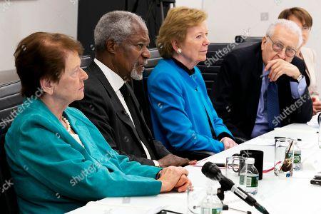 Editorial image of AP Interview Annan, New York, USA - 08 May 2017