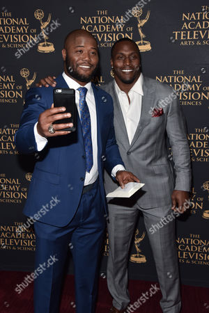 Stock Image of Michael Robinson, Takeo Spikes