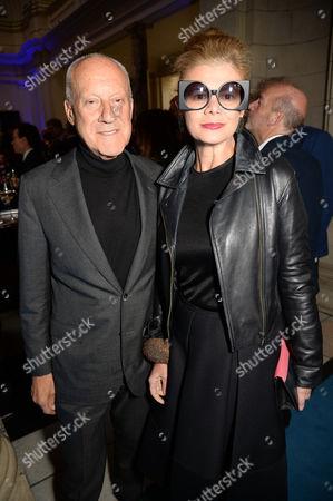 Norman Foster and Elena Ochoa Foster