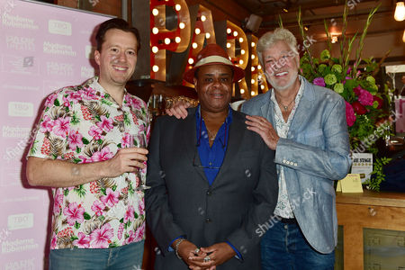 Jez Bond, Clive Rowe and Matthew Kelly