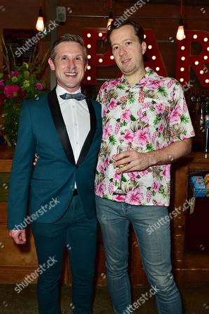Ian Hallard and Jez Bond