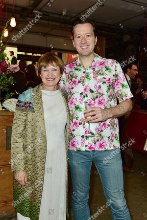 Baroness Tessa Jowell with Jez Bond