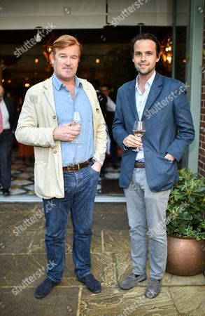 Stock Image of Guest and Charlie Gilkes