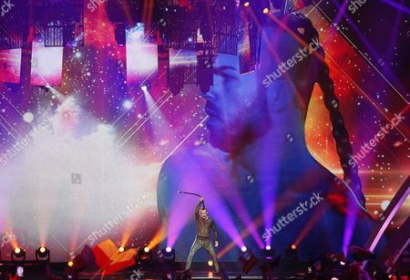 Editorial image of First Semi Final - 62nd Eurovision Song Contest, Kiev, Ukraine - 09 May 2017