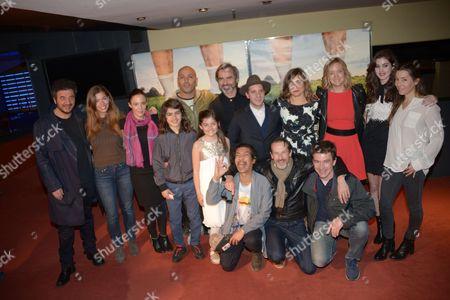 Editorial image of 'Problemos' film premiere, Paris, France - 09 May 2017
