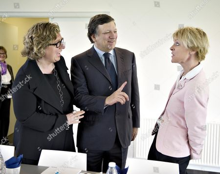 Editorial photo of Denmark Barroso Visit - Apr 2011