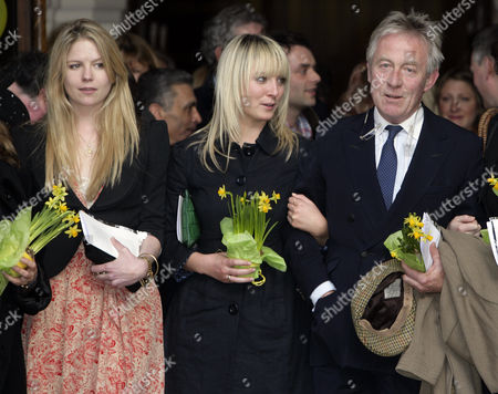 Arrabella and Olivia Llewellyn (Dai's Daughters) and Roddy Llewellyn