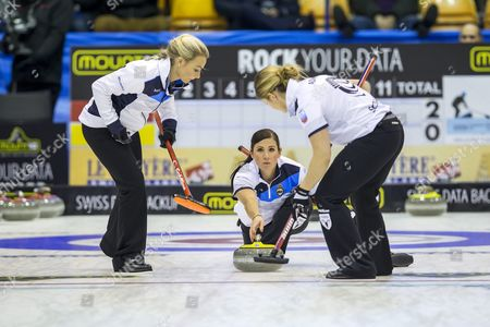 Editorial picture of Denmark Curling European Championship - Nov 2015