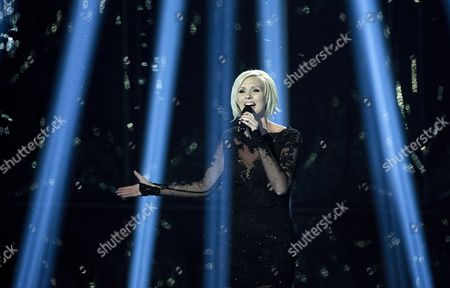 Sanna Nielsen Representing Sweden Performs During the 59th Annual Eurovision Song Contest (esc) at the B&w Hallerne in Copenhagen Denmark 10 May 2014 Sixteen Countries Are Competing in the Grand Finale Denmark Copenhagen