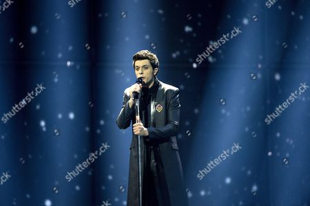 Stock Picture of Aram Mp3 Pepresending Armenia Performs During the 59th Annual Eurovision Song Contest (esc) at the B&w Hallerne in Copenhagen Denmark 10 May 2014 Sixteen Countries Are Competing in the Grand Finale Denmark Copenhagen