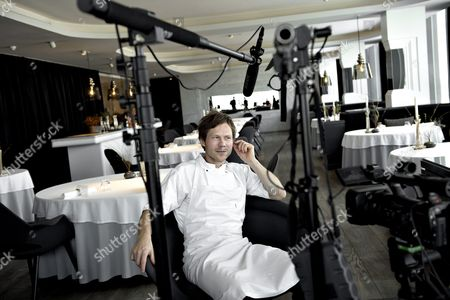 The Picture Dated 14 March 2013 Shows Danish Chef Rasmus Kofoed in His Restaurant Geranium in Copenhagen Denmark Restaurant Geranium Received is Third Michelin Star During a Press Conference at Hotel D'angleterre in Copenhagen Denmark 24 February 2016 where the Michelin Guide Presented New Star Restaurants in Denmark and the Other Nordic Countries Denmark Copenhagen