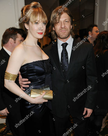 Stock Picture of Sean Bean and Georgina Sutcliffe