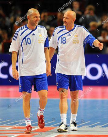 France '98 vs PSG - Zinedine Zidane and Franck Leboeuf