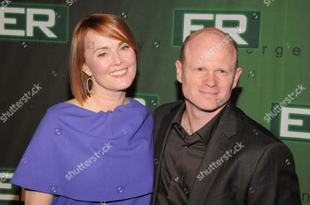 Laura Innes and Paul McCrane
