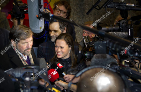 Professor John Donaldson (l) Danish Crown Princess Mary's Father Talks to Media As He Leaves the Rigshospitalet in Copenhagen Denmark 08 January 2011 His Daugther Crown Princess Mary Gave Birth to Twins a Boy and a Girl at Rigshospitalet in Copenhagen on 08 January 2011 Denmark Copenhagen