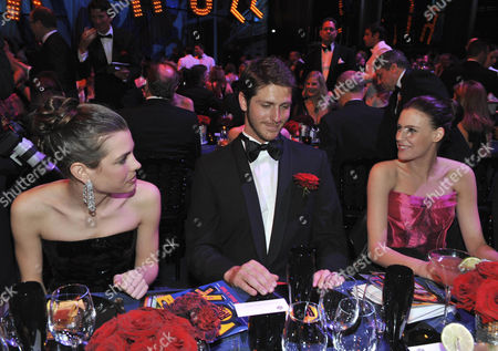 Stock Image of Charlotte Casiraghi, Jean-Thierry Besins and Juliette Maillot