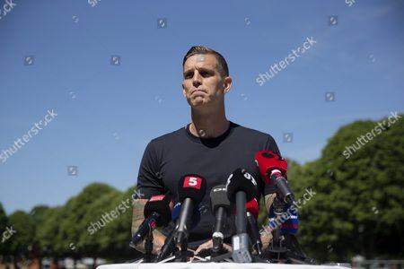 Editorial photo of Denmark Soccer Agger - Jun 2016