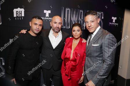 Gabriel Chavarria, Ricardo de Montreuil, Eva Longoria, Theo Rossi