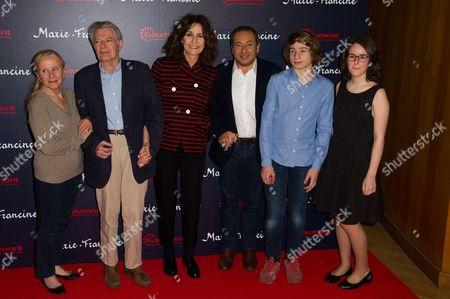 Helene Vincent, Philippe Laudenbach, Valerie Lemercier, Patrick Timsit, Anna Lemarchand
