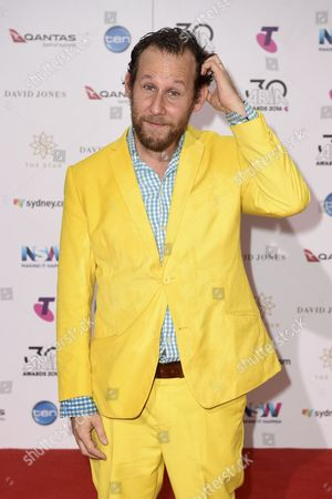 Australian Musician Ben Lee Poses For a Photo During the 30th Aria Awards at the Star in Sydney Australia 23 November 2016 Australia Sydney
