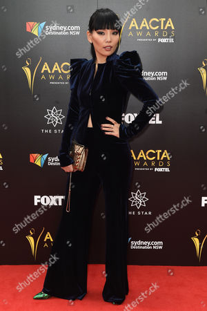 South Korean-born Australian Singer Dami Im Poses on Arriving on the Red Carpet at the Australian Academy of Cinema and Television Arts Awards (aacta) at the the Darling in Sydney Australia 07 December 2016 Australia Sydney