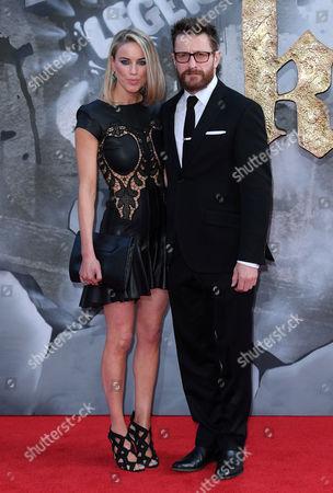 Stock Photo of Peter Ferdinando and Alexandra Weaver