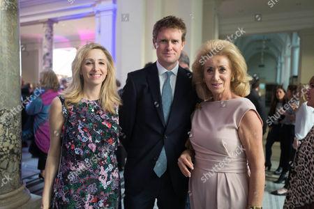 Lady Wolfson of Marylebone, Antoinette Jackson, Dr Tristram Hunt