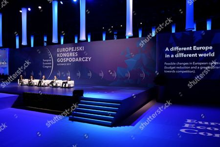 Editorial picture of 9th European Economic Congress, Katowice, Poland - 10 May 2017
