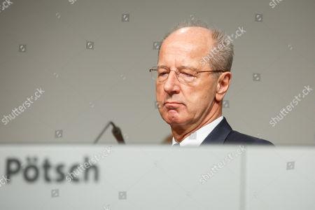 Stock Picture of Hans Dieter Potsch