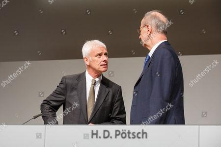 Matthias Müller, Hans Dieter Potsch