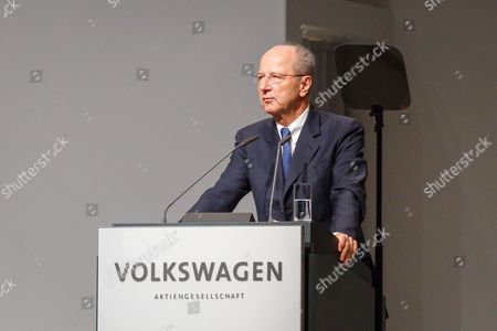 Editorial picture of Volkswagen AG annual general meeting, Hanover, Germany - 10 May 2017