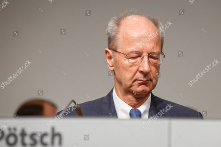 Editorial photo of Volkswagen AG annual general meeting, Hanover, Germany - 10 May 2017
