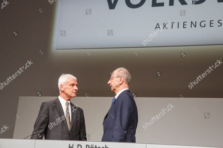 Editorial image of Volkswagen AG annual general meeting, Hanover, Germany - 10 May 2017