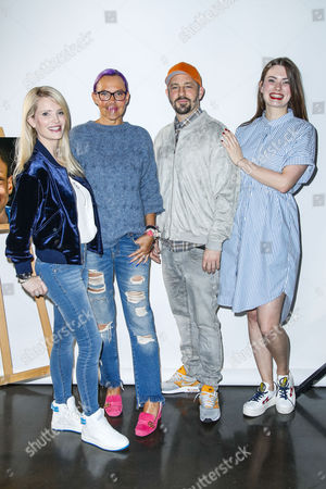 Editorial picture of Vernissage of the project donate a smile, Hamburg, Germany - 10 May 2017