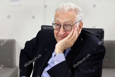 Editorial picture of Lakhdar Brahimi, New York, USA - 08 May 2017