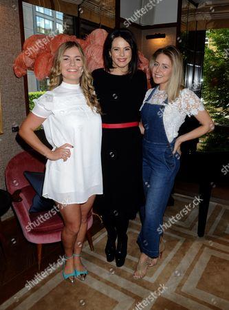Stock Picture of Mollie Bylett , Eleni Renton , Stefani Jones